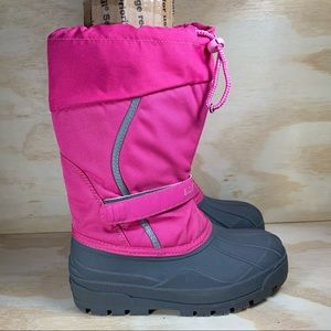 L.L Bean Northwoods Pink Insulated Snow Boots